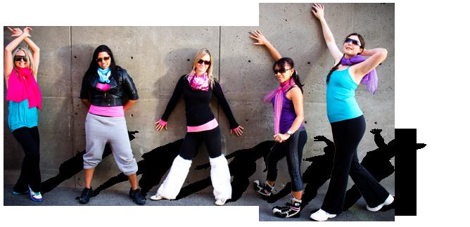 Zumba Glee Urban Movement Instructors Kamloops